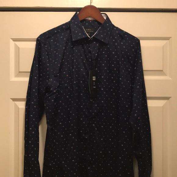 67db0eda7c Zara Shirts   Brand New Man Shirt Slim Fit   Poshmark